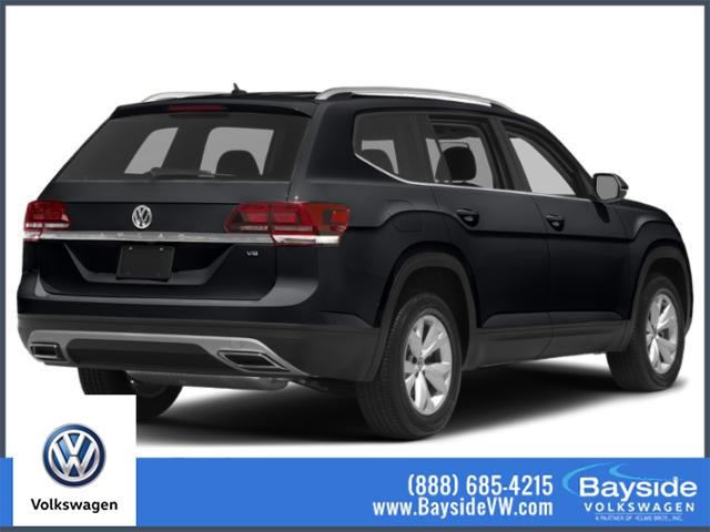 New 2019 Volkswagen Atlas SE /w TECH R-Line AWD